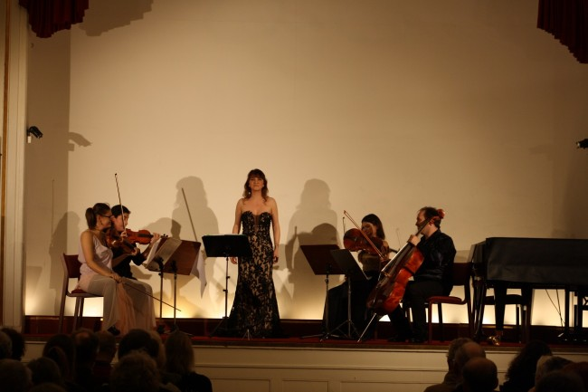 Copenhagen Festival Ensemble Amelia Jakobsson, Marie Hanskov, Loussine Azizian, Cecylia Fenrych, Petr Nouzovsky 1