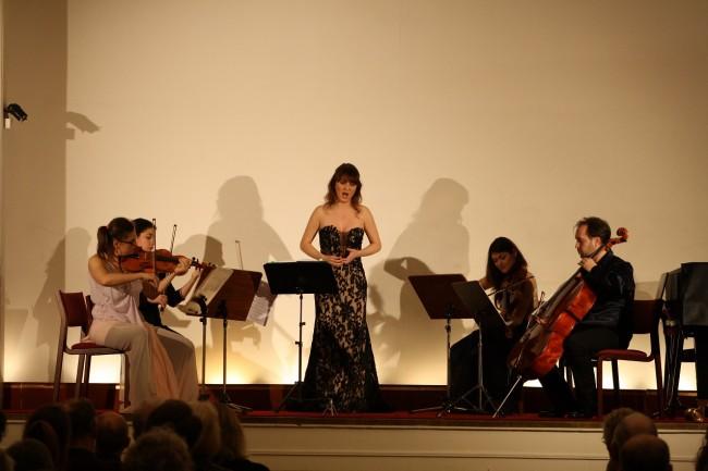 Copenhagen Festival Ensemble Amelia Jakobsson, Marie Hanskov, Loussine Azizian, Cecylia Fenrych, Petr Nouzovsky