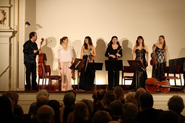 Copenhagen Festival Ensemble Amelia Jakobsson, Marie Hanskov, Loussine Azizian, Kristina Fialova Cecylia Fenrych, Petr Nouzovsky 1