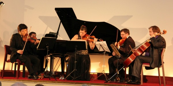 Copenhagen Festival Ensemble, Daishin Kashimoto, Marie Hanskov . Dmitri Golovanov . Petr Nouzovsky . Kiril Aginsky (2)
