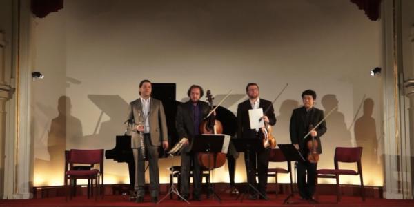 Copenhagen Festival Ensemble, Daishin Kashimoto, Marie Hanskov . Dmitri Golovanov . Petr Nouzovsky . Kiril Aginsky