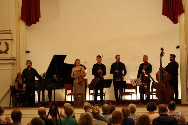 Copenhagen Festival Ensemble  Hanskov Novik  Schnee Brendstrup Gonzalez Wesselowski  Aginsky
