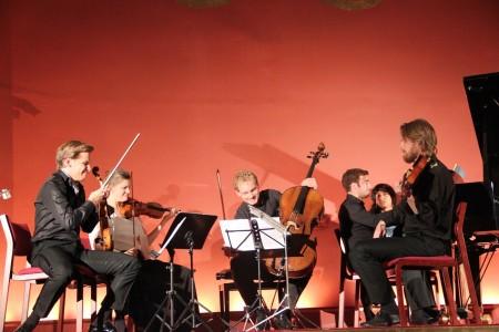 Copenhagen Festival Ensemble, Kirill Troussov. Marie Hanskov. Asbjørn Nørgaard. Toke Møldrup. Yaron Kohlberg (2)