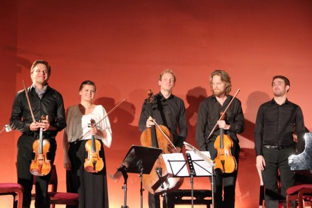 Copenhagen Festival Ensemble, Kirill Troussov. Marie Hanskov. Asbjørn Nørgaard. Toke Møldrup. Yaron Kohlberg