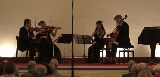 Copenhagen Festival Ensemble, Levon Chilingirian Marie Hanskov.  Elen Guloyan. Jacob Shaw.  1