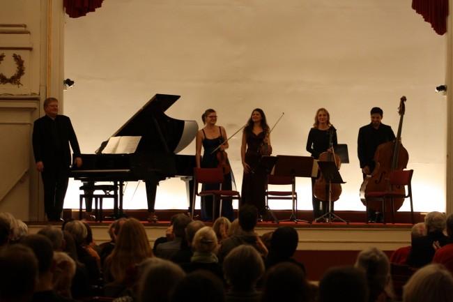 Copenhagen Festival Ensemble Marie Hanskov  Cecylia Fenrych. Amelia Jakobsson  Joel Gonzalez Mats Jansson