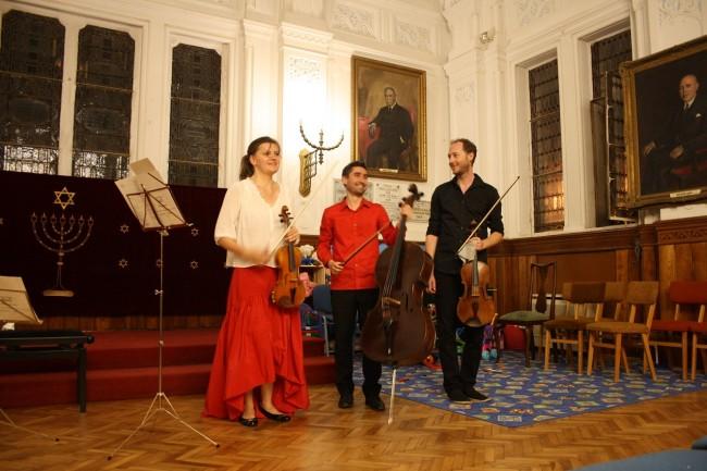 Copenhagen Festival Ensemble Marie Hanskov David Schnee Alberto Ferres-Torres
