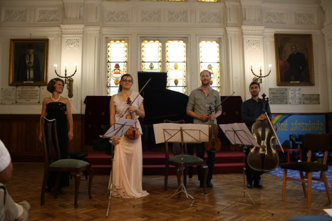 Copenhagen Festival Ensemble Marie Hanskov David Schnee Alberto Ferres-Torres  Dorottya Marosvari
