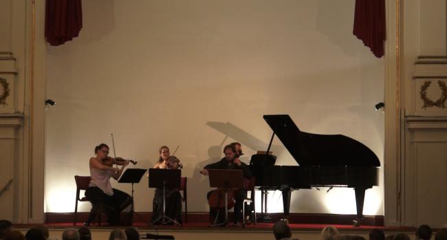 Copenhagen Festival Ensemble Marie Hanskov Kristina Fialova Petr Nouzovsky Vytis Sakuras