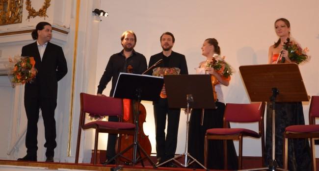 Copenhagen Festival Ensemble Marie Hanskov Kristina Fialova Petr Nouzovsky Vytis Sakuras Kiril Aginsky