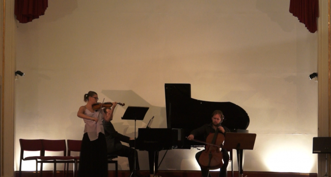 Copenhagen Festival Ensemble Marie Hanskov Petr Nouzovsky Vytis Sakuras