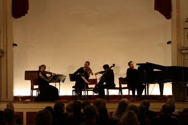 Copenhagen Festival Ensemble Marie Hanskov. David Schnee. Alberto Torres. Vytis Sakuras (2)