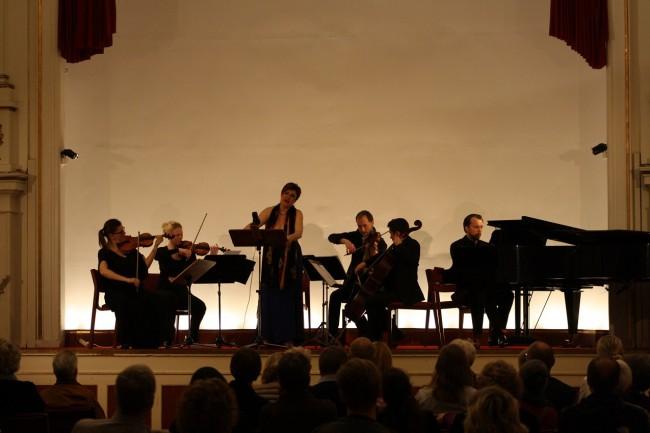 Copenhagen Festival Ensemble,Gitta-Maria Sjöberg. Marie Hanskov. Sara Blankholm. David Schnee. Alberto Torres. Vytis Sakuras (1)