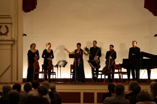 Copenhagen Festival Ensemble,Gitta-Maria Sjöberg. Marie Hanskov. Sara Blankholm. David Schnee. Alberto Torres. Vytis Sakuras (2)